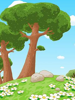 Сказочный лес смешариков